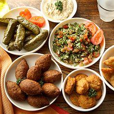 Lebanese recipes for mezze nights.
