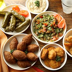 Lebanese recipes for mezze nights...some of my all time favorites here.