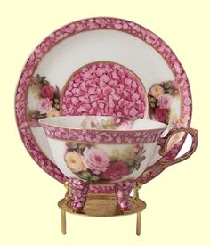 Hand Painted Porcelain Teacup