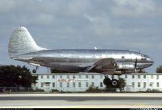 Rich International, Curtiss C-46F Commando (CW-20B-4) (N5370N) at Miami (KMIA) December 1980