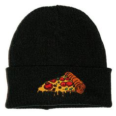 Black beanie hat with cotton embroidered patch. Patches are machine sewn by Extreme Largeness. Measurements are based on the beanie laid flat. Cool Beanies, Men's Beanies, Beanie Hats, Hipster Grunge, Diy Fashion, Ideias Fashion, Steampunk Fashion, Victorian Fashion, Gothic Fashion