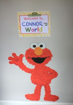 Project Nursery - Elmo Birthday Bash