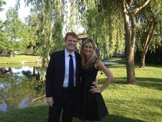 Joe and Lauren Kennedy. Joe is a grandson of RFK and Ethel.