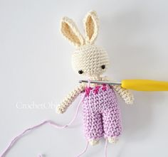 Baby Bunny Overall – CrochetObjet by MoMalron