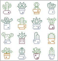 Cactus Cross Stitch Pattern modern cross stitch pattern Cactus sampler Succulent cross s Cactus Cross Stitch, Tiny Cross Stitch, Cross Stitch Borders, Modern Cross Stitch Patterns, Cross Stitch Flowers, Cross Stitch Designs, Cross Stitching, Cross Stitch Embroidery, Embroidery Patterns