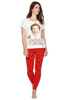 Tesco direct: Warner Bros. Elf Christmas Pyjamas