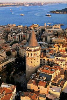 Turkey Travel Inspiration - Insider Istanbul: Where to Eat, Sleep, and Explore - Condé Nast Traveler - Galata Tower The Places Youll Go, Places To See, Travel Around The World, Around The Worlds, Places To Travel, Travel Destinations, Destination Voyage, Turkey Travel, Osaka