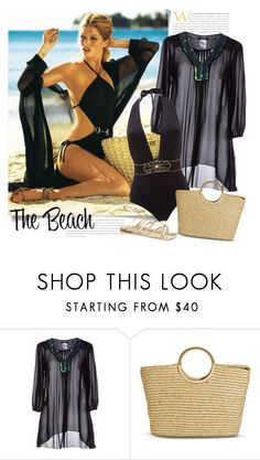 """The Beach"" by sella103 ❤ liked on Polyvore featuring Jei O', Merona and Jimmy Choo"