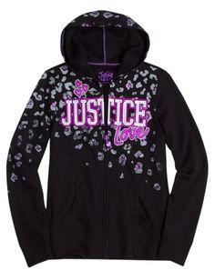 size 12 Justice Animal Fleece Sweatshirt | Girls Sweatshirts Clothes | Shop Justice