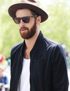 2014newyork fashion week streetstyle for men. chic tortoiseshell sunglasses you must love. #sunglasses #men #fashion