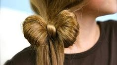 Ponytail Bow | Easy Hairstyles | Cute Girls Hairstyles, via YouTube.