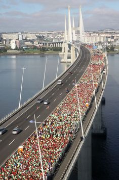 2011 Portugal Half-marathon...and I thought the Country Music was crowded!