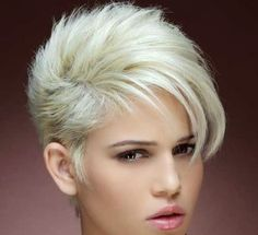 layered bangs short hairstyle