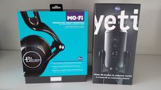 Blue Mo-Fi Headphones & Yeti Blackout Microphone Giveaway