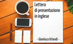 Servizio di Traduzione Lettera di Presentazione in inglese