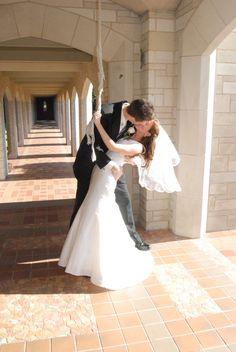 A little bit of romance - just rang the bell!  #belltower #fortworth #wedding #chapel