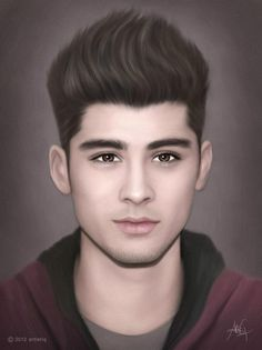 OMG! This is incredible! Do you know how hard it is to draw Zayn? He's litterally PERFECT! (found on Twitter,credit to: artistiq)