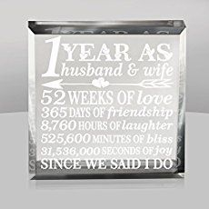 1st Wedding Anniversary Gift Idea – personalized | Gift Ideas Generator
