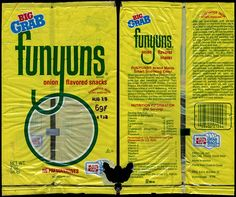 1980s Funyuns bag...*notice the price!