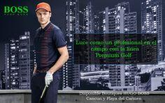 Luce como un profesional en el campo con la nueva temporada Premium Golf de HUGO BOSS GREEN. No te pierdas sus nuevos diseños, esta colección esta increible, con materiales que la hacen sumamente fresca y ligera para maximizar el desempeño de cualquier jugador !  Disponible Boutiques HUGO BOSS Cancún y Playa del Carmen #LuxuryGolfStyle #EnvyStores