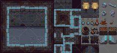 Dark Dungeon - RPG Tileset | GameDev Market