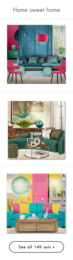 """""""Home sweet home"""" by perla57 ❤ liked on Polyvore featuring interior, interiors, interior design, home, home decor, interior decorating, Kelly Hoppen, Incipit, John-Richard and Surya"""