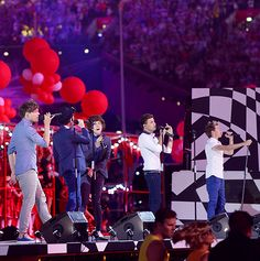 Day 5: Favorite Live Performance=PERFORMING AT THE CLOSING CEREMONY