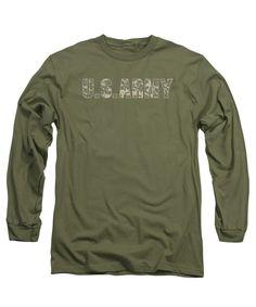 Army - Camo Adult Long Sleeve T-Shirt