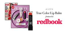 According to Redbook Magazine, Avon True Color Lip Balm is a winter must-have to keep your lips moisturized. #AvonRep
