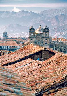 Cusco, Peru. As the ancient Inca capital, it is a beautiful, yet rare mix of indigenous culture and colonial splendour.