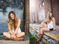 htx houston texas photographer joy photography JOIE PHOTOGRAPHIE warehouse district long natural blonde brown hair curl fashion sunflare boots shorts Sydney high school senior pictures from Cy-Fair high school in Cypress Texas