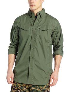 TRU-SPEC Men's Lightweight 24-7 Long Sleeve Field Shirt