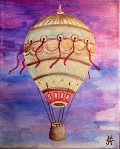 """""""Let it go man..."""" By Julie C. Fetzer acrylic on canvas.  www.PalmArtsAndPhoto.com"""