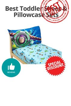 Best Toddler Sheet & Pillowcase Sets - Discount and review Toddler Sheets, Pillow Cases, Map, Maps