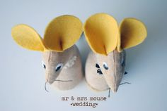 mouse wedding, mice, 2 soft toys, wedding gift, soft sculpture, linen, beige, yellow, gift for a wedding, set, soon in etsy shop