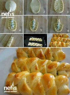 Orgulu Pogaca- how to make braided pogaca