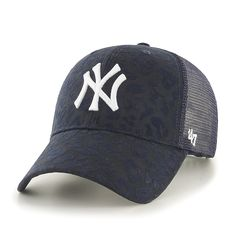 be0ef99c88746 New Era New York Yankees Navy Double Mesh 39THIRTY Flex Hat
