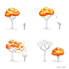 INCIDENTAL COMICS: A Sketch for Autumn