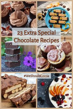 23 extra special chocolate recipes to tempt and inspire. It's eighth anniversay and the final chocolate party. Tasty Chocolate Cake, Chocolate Party, Homemade Chocolate, Chocolate Cookies, Chocolate Desserts, Pastry Recipes, Baking Recipes, Bakers Gonna Bake, Dessert Cake Recipes
