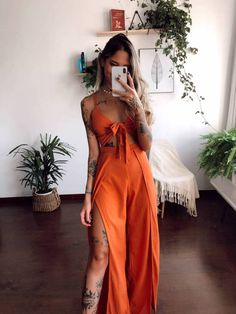 Chic Outfits, Summer Outfits, Fashion Outfits, Boho Fashion, Girl Fashion, Streetwear, Looks Vintage, Fashion 2020, Casual Chic