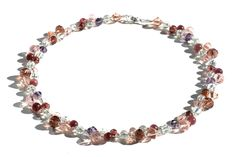 Morioka - necklace / kaulakoru Bead Jewelry, Glass Beads, Beaded Necklace, How To Make, Beaded Jewelry, Beaded Collar, Pearl Necklace, Pearl Jewelry, Beaded Necklaces