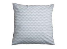 Kissenbezug Geometrie Hellblau Weiß (Bild 1 )  Im schlichten skandinavischen…