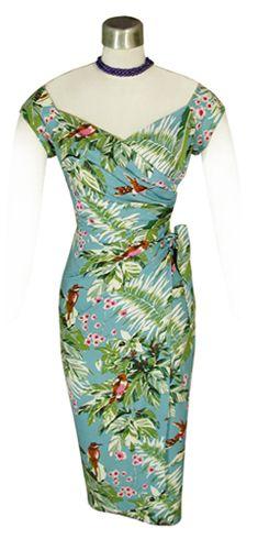 Retro Tiki Dress