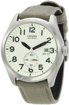 Citizen Men's BV1080-18A Sport Eco-Drive Strap Watch: Watches: Amazon.com $119