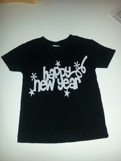 Huds new years shirt I made!