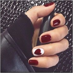 50 stylish christmas nail colors and how to do them 10 | fashionspecialday.com