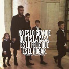 Es lo feliz que es el hogar Quotes En Espanol, Motivational Quotes, Inspirational Quotes, Millionaire Quotes, Life Rules, Empowering Quotes, Good Good Father, Spanish Quotes, Life Motivation