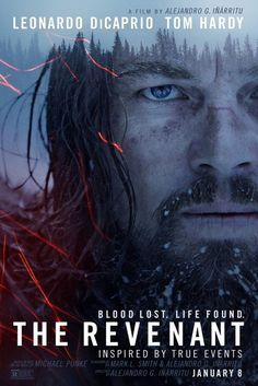 The Revenant (2015) - Leonardo DiCaprio, Tom Hardy, Will Poulter #MovieTheRevenant2015
