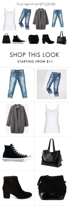 """""""Can you imagine such a free style? by YourStyle"""" by hana-krymlakova on Polyvore featuring Sans Souci, Toast, Converse, Steve Madden and Pierre Balmain"""