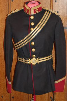 Royal Army Medical Corps Officers Full Dress Tunic